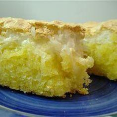 Kokos meringue cake @ allrecipes.nl