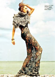 Pisces - Flavia De Oliveira/Elle Russia - http://www.simplysunsigns.com/