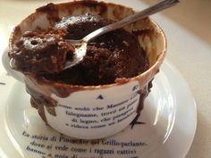 Brownie nella tazza