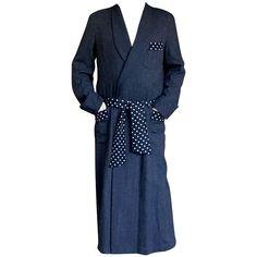 Yohji Yamamoto Pour Homme Vintage Floor Length Silk Lined Coat, Evening Robe