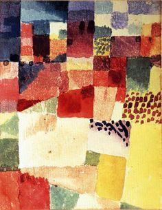 Hammamet  - Klee Paul (1879-1940) - STAMPA SU TELA € 18, 26