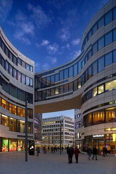 Kö-Bogen Düsseldorf - Studio Daniel Libeskind / Düsseldorf, Germany