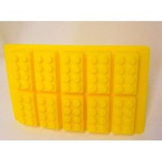 Building Bricks Ice Cube Tray or Candy Mold--for Lego Enthusiasts! You could also use it for soap or crayons!