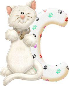 Alfabeto con gatito.....C.png (327×411)