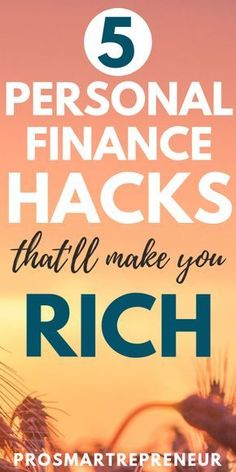 Personal Finance Hacks That Will Make You Rich (In One Year!) – Finance tips, saving money, budgeting planner Planning Budget, Budget Planner, Budgeting Finances, Budgeting Tips, Financial Tips, Financial Planning, Financial Literacy, Finance Books, Personal Finance
