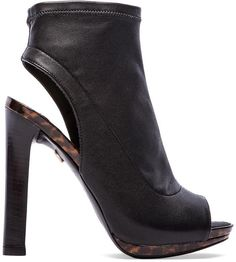 In love with this @dvf  Amara peeptoe Bootie #shoes