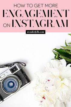 5 ways to get more engagement on Instagram - for bloggers, entrepreneurs, small business owners who want to grow an engaged Instagram following, get more likes, more comments, and more customers! << Wonderfelle