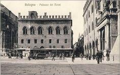 Bologna - Palazzo dei Notai built 14th-15th century - early photograph