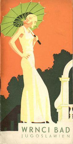 Vintage Travel Brochure: Wrnci Bad, Yugoslavia