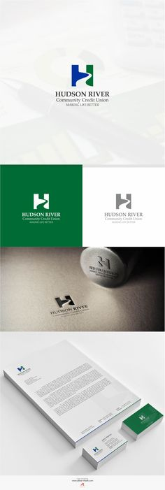 Hudson River Accounting - #Logo Design and #Branding by www.akbar-rhadit.com