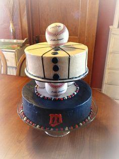 Minnesota Twins Birthday Cake. I WANT THIS
