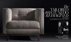 RH's Madison Fabric Sofa Collection