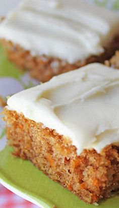 Carrot Sheet Cake Recipe