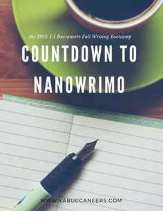 Join our 2016 Fall Writing Bootcamp and Countdown to NaNoWriMo with us!  http://www.yabuccaneers.com/blog/2016/8/24/fall-writing-bootcamp-countdown-to-nanowrimo