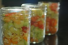 Easy Pickled Banana Peppers by The Adventure Bite. This recipe is so fast and easy its silly. Its tangy and salty and sweet and vinegary all at the perfect levels. Recipes With Banana Peppers, Sweet Banana Peppers, Canning Banana Peppers, Pickled Banana Peppers, Stuffed Banana Peppers, Stuffed Jalapeno Peppers, Pepper Recipes, Banana Pepper Rings, Pickled Pepper Recipe