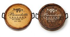 Show the love at family dinners with this personalized lazy Susan. Holiday Fun, Holiday Gifts, Wine Barrel Lazy Susan, Kitchen Helper, Old World Style, Personalized Wine, Family Gifts, Stuff To Do, Tabletop