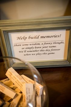 Lots of ideas for this - guestbook, marriage advice, memories with Bride/Groom. Could make a S&D/B fundraising game - pay to make a piece (drinking/naughty game for the happy couple 😜) Graduation Party Planning, Graduation Celebration, Graduation Party Decor, Grad Parties, Graduation Party Ideas High School, Trunk Party Ideas College, Outdoor Graduation Parties, Graduation Gifts, Jenga Guest Book