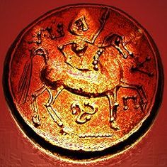 A coin of eastern Celtic Tribes