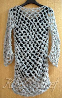 Πλεκτη Μπλουζα με Βελονακι (μερος 1ο)/ Crochet Solomon's Knot Shirt Tuto...