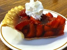 Sugar Free Strawberry Pie- THM S or E - (recipe by Jennifer Kearns)