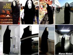 no-face Awesome Cosplay, Best Cosplay, Thomas William Hiddleston, Studio Ghibli, Cosplay Costumes, Supernatural, Halloween, Board, Funny