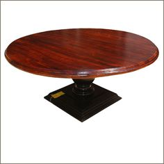 Breathtaking 72 round wood dining table