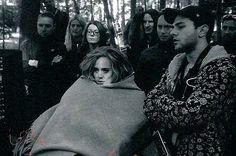"Adele and Xavier Dolan on the set of ""Hello"" music video Adele Live, Adele 25, Adele Daydreamer, Adele Instagram, Adele Photos, Hello Music, Adele Concert, Adele Adkins, Xavier Dolan"