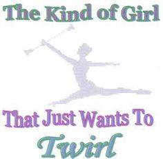 baton twirling....ahhhhh back in the day!