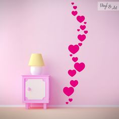 Home Decoration Sale Clearance Simple Wall Paintings, Wall Painting Decor, Girl Bedroom Walls, Girl Room, Bedroom Decor, Creative Wall Decor, Creative Walls, Wall Art Designs, Wall Design