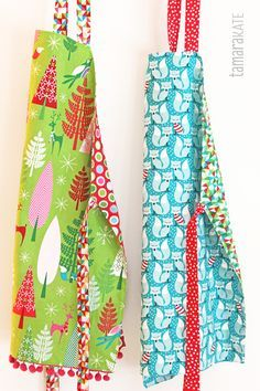 Have you thought about whipping up an apron for yourself, or for a personal gift for friends and family? There are some fabulous free patte...