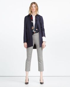 GINGHAM TROUSERS-View All-TROUSERS-WOMAN | ZARA United States