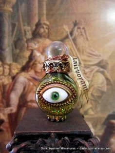 Clairvoyant Potion dollhouse miniature in 1/12 by DarkSquirrel, $15.00