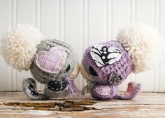 Lue and Sue - Adorable crochet animals, no patterns but great inspiration!