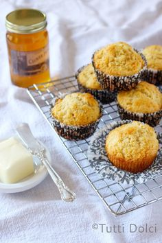 Honey-Butter Muffins @Laura | Tutti Dolci