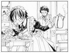Jaja no puedo,  Luffy se ve muy tierno