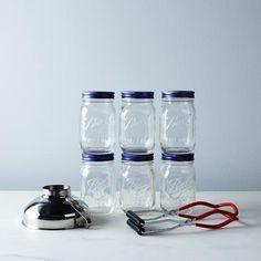 Prep for pickles. Get this lovely canning set at the Food52 shop. #canning #jar #balljar