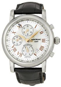 Montblanc Chronograph GMT Automatic Mens Watch 36967