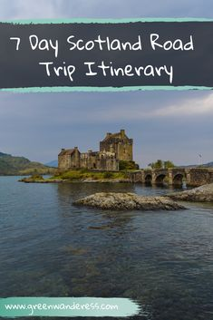 Scotland Road Trip Itinerary in 7 Days - Green Wanderess Travel Tips Tips Travel Guide Hacks packing tour Scotland Hiking, Scotland Road Trip, Scotland Travel, Road Trip Essentials, Road Trip Hacks, Road Trips, Travel Inspiration, Travel Ideas, Travel Hacks