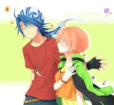 Harvest Moon Tree of Tranquility Hikari and Luke