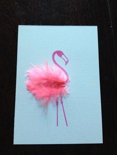 Great DIY flamingo party invitation
