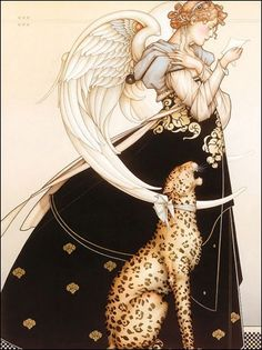 The Angel of Corinth - Michael Parkes
