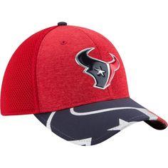 New Era Men s Houston 2017 Draft 39Thirty Adjustable Red Hat aae930084d9