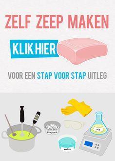 Zelf zeep maken?  KLIK HIER voor een stap voor stap uitleg:  http://www.zeepmaken.net/zeepmaken/stap-voor-stap/