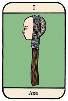"""Ellis Nadler's """"Cards of Wu"""""""