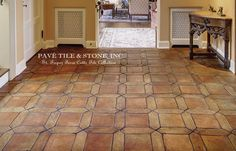 Pavé Tile & Stone, Inc. > European Terra Cotta Tile Flooring: St. Tropez French Terra Cotta Tile Flooring™