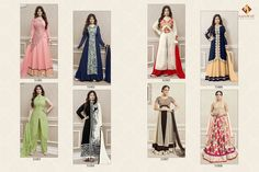 ROLES-4 BY SF WHOLESALE DESIGNER EMBROIDERED SALWAR KAMEEZ Catelog pieces: 8 Full Catelog Price: 9200 Price Per piece: 1150 MOQ: Full catalog Shipping Time: 4-5 days Delivery: Dispatch after 2016-08-11 Sizes: Semi Stich Fabrics Detail  Top :- Fox Georgette  Bottom & inner :- heavy santoon Dupatta :- nazmn #nicecollection  #goodmateriel  #awesomelook Call&Whatsapp;+917405434651 website link :-http://textiledeal.in/wholesale-product/4331/Roles-4-by-sf-Wholesale-Designer-Embroidere