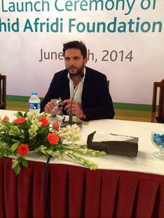 Shahid Afridi !