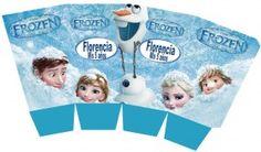 Patrones de cajas imprimibles de Frozen 3