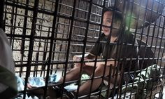The mentally ill killer forced to live locked in a cage for 11 years by his own mother over fears he will strike again in China Global Mental Health, Future Research, 13 Year Old Boys, Weird News, Criminology, Life And Death, Weird Pictures, Criminal Minds
