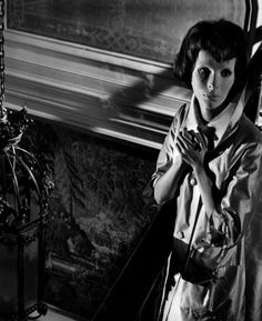 Edith Scob in Eyes Without a Face (1960, dir. Georges Franju)